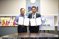 YOUNG IN ENGINEERING signs the MOU with VITZRO TECH 사진